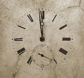 Relógio de pedra Foto de Stock Royalty Free