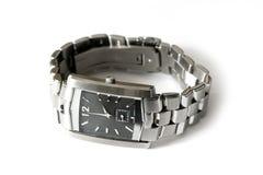 Relógio de prata Foto de Stock
