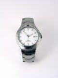 Relógio de prata do negócio Fotografia de Stock Royalty Free