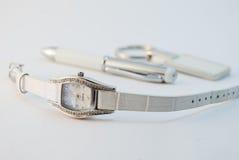 Relógio de pulso. imagens de stock royalty free