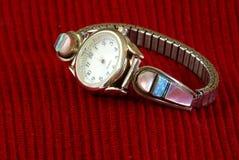 Relógio de pulso da senhora fotografia de stock