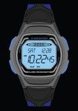 Relógio de pulso de Digitas Fotografia de Stock Royalty Free