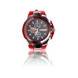Relógio de pulso do esporte dos homens Foto de Stock Royalty Free