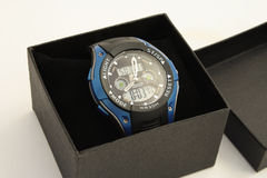 Relógio de pulso dos homens. Fotos de Stock