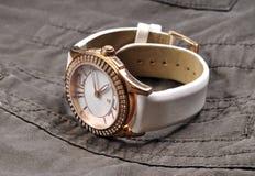 Relógio de pulso luxuoso Imagens de Stock Royalty Free