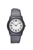 Relógio de pulso preto Foto de Stock