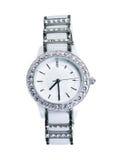 Relógio de senhoras branco Fotografia de Stock Royalty Free