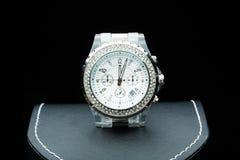 Relógio de senhoras na caixa Imagens de Stock