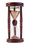 Relógio de vidro Fotos de Stock
