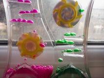 Relógio do brinquedo Imagem de Stock Royalty Free