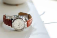Relógio do casamento Imagens de Stock