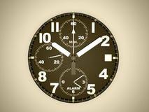 Relógio do esporte rendido no cinza ilustração do vetor