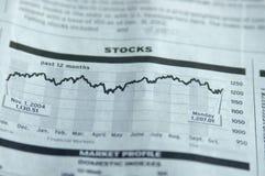 Relógio do mercado Fotografia de Stock