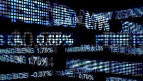 Relógio do mercado de valores de ação ilustração royalty free