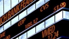Relógio do mercado de valores de ação, Time Square filme