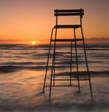 Relógio do nascer do sol Fotos de Stock