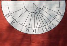 Relógio do relógio de sol Imagem de Stock