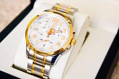 Relógio do suíço - presente Foto de Stock Royalty Free