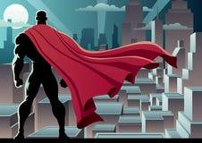 Relógio 3 do super-herói ilustração royalty free