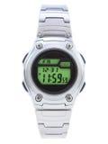 Relógio do vestido de Digitas com face verde Imagens de Stock