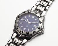 Relógio do vestido dos homens Fotos de Stock Royalty Free