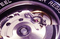 Relógio do vintage Foto de Stock Royalty Free