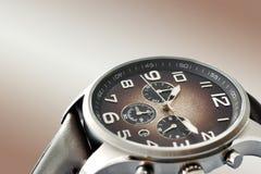 Relógio dos homens Fotografia de Stock