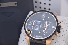 Relógio dos homens Fotos de Stock Royalty Free