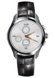 Relógio dos homens Foto de Stock Royalty Free