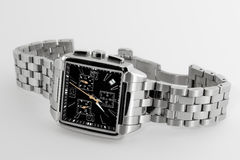 Relógio dos homens elegantes Fotografia de Stock