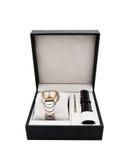 Relógio dos homens novos em uma caixa Imagem de Stock