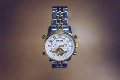 Relógio dourado Imagem de Stock