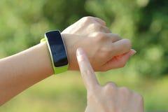 Relógio esperto Foto de Stock