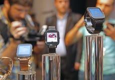 Relógio esperto Fotografia de Stock Royalty Free
