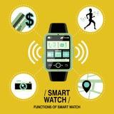 Relógio esperto Multifunction Fotografia de Stock