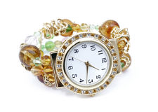 Relógio isolado Fotografia de Stock Royalty Free