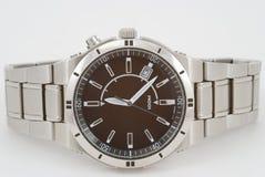 Relógio lustroso Fotografia de Stock Royalty Free