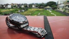 Relógio luxuoso Imagens de Stock Royalty Free