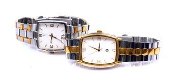 Relógio marcado imagem de stock