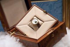 Relógio mecânico Fotografia de Stock Royalty Free