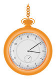 Relógio na corrente Imagem de Stock Royalty Free