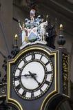 Relógio original da parede do vintage Imagens de Stock