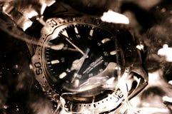 Relógio subaquático foto de stock royalty free