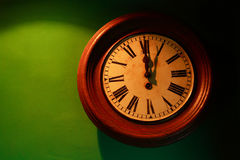Relógio velho Imagem de Stock