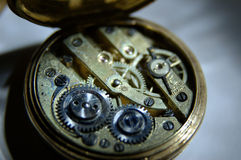 Relógio velho Fotos de Stock Royalty Free