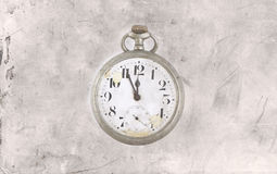 Relógio velho Imagem de Stock Royalty Free