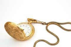 Relógio velho Fotografia de Stock Royalty Free