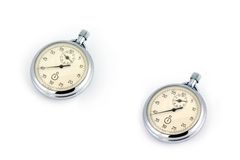Relógio velho do russo Fotos de Stock Royalty Free