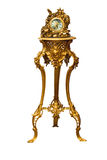 Relógio velho em um apoio Fotografia de Stock Royalty Free