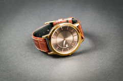 Relógios à moda do ` s dos homens Fotografia de Stock